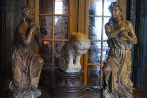 Pair of cherubs Restoration - Louis XIV