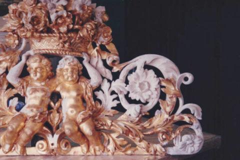 Golden frame restoration