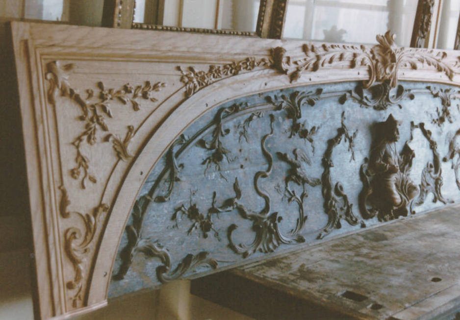 Chinoiserie - Paneling restoration