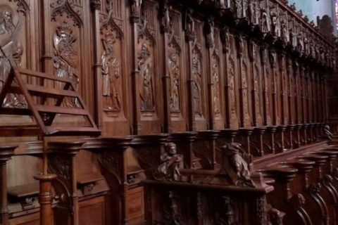 Restoration of Stalls of Saint Claude's Cathedral